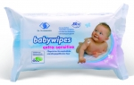 babywipes extra- sensitive (Flowpack mit 80 Tüchern)